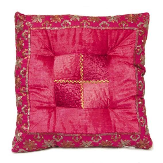"Kissen ""Tanka pink"", L 40 cm, B 40 cm"