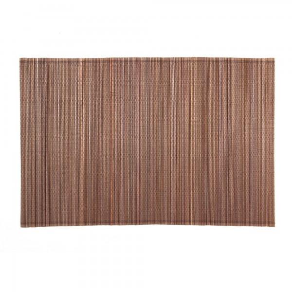 Tischset aus Bambus, braun, L 33 cm, B 48 cm