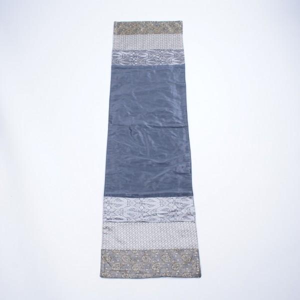 """Tischläufer """"Smokey"""", grau/weiß, L 150 cm, B 40 cm"""
