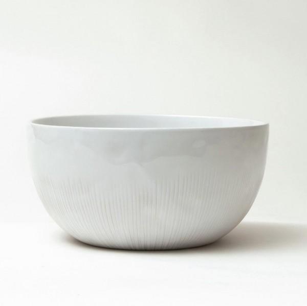 """Servierschüssel """"Organic"""", weiß, H 10,5 cm, Ø 20,5 cm"""