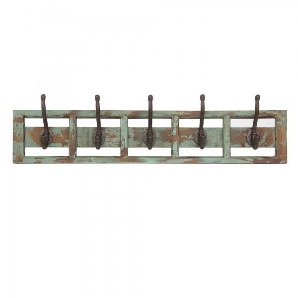 5er Hakenleiste, natur, T 2cm, B 80cm, H 16cm
