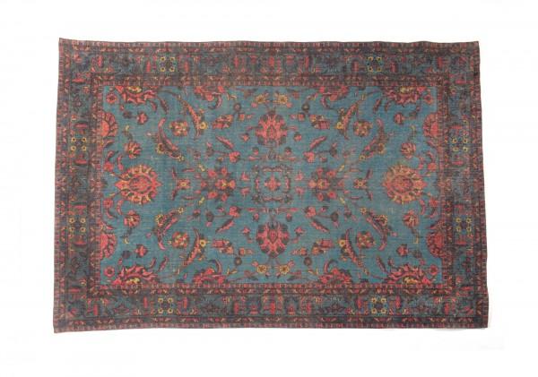 """Teppich """"Mapusa"""", handbedruckt, L 200 cm, B 140 cm"""
