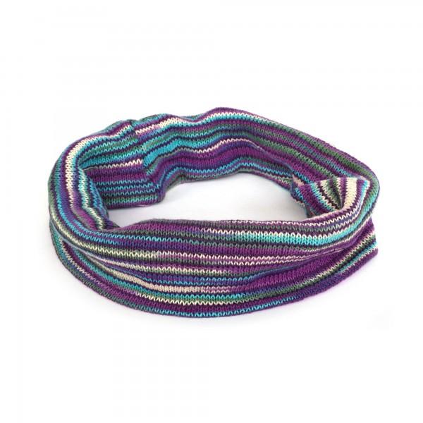 Stirnband, lila, blau, Ø 20 cm, H 20 cm