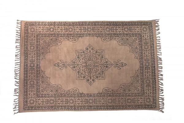Teppich 'Patna', handbedruckt, L 200 cm, B 140 cm