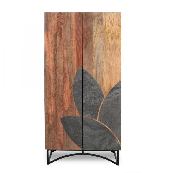 Schrank 'Bois', natur, T 45 cm, B 70 cm, H 140 cm