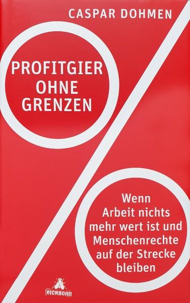 Buch 'Profitgier ohne Grenzen'