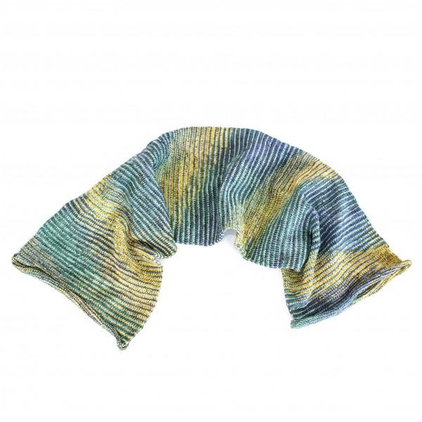 """Schal """"Magic Scarf"""", blau/gelb, L 65 cm, B 20 cm"""
