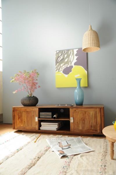 TV-Board 'Mansfield', natur, T 50 cm, B 150 cm, H 62 cm
