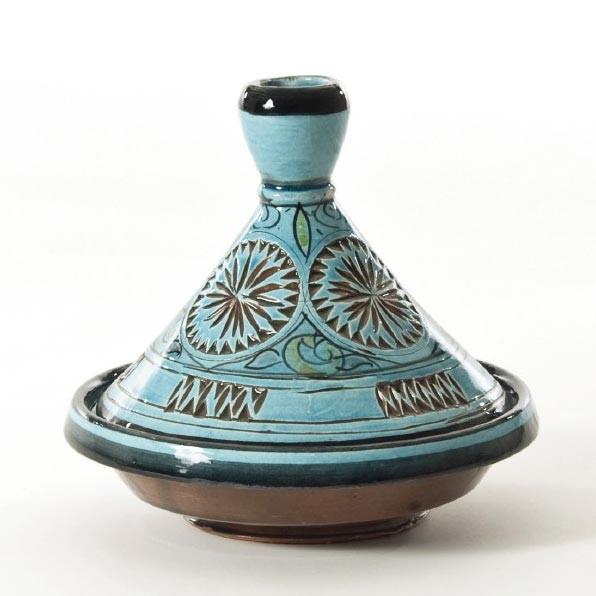 Dekotajine, türkis, H 18 cm, Ø 20 cm