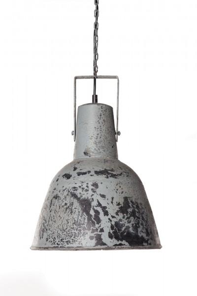 Leuchte 'Metalblue', grau, Ø 30 cm, H 38 cm