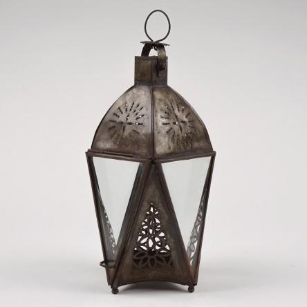 Marokkanische Laterne 'Thelta', aus Metall, H 28 cm