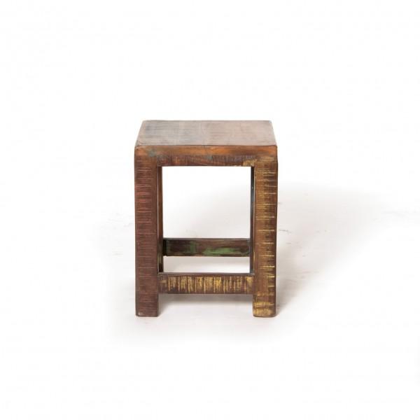 """Beistelltisch """"Hove"""" aus Akazienholz, Größe S, T 28 cm, B 28 cm, H 35 cm"""