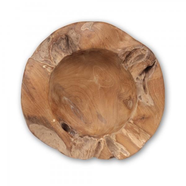 Holzschale aus Restholz, natur