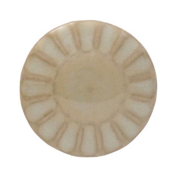 Knopf Sonne rund, hellgrün, Ø 3 cm