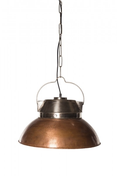 Lampe 'Kupfer', aus Metall, Ø 46 cm, H 30 cm