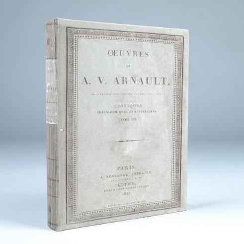 "Buch-Tresor ""Arnault"", L 4 cm, B 21 cm, H 27 cm"