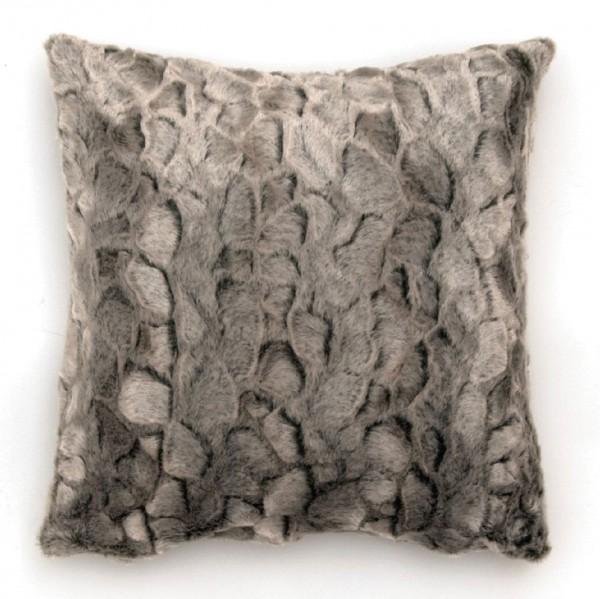 """Kissen """"Baum"""", weiß/grau, L 45 cm, B 45 cm"""