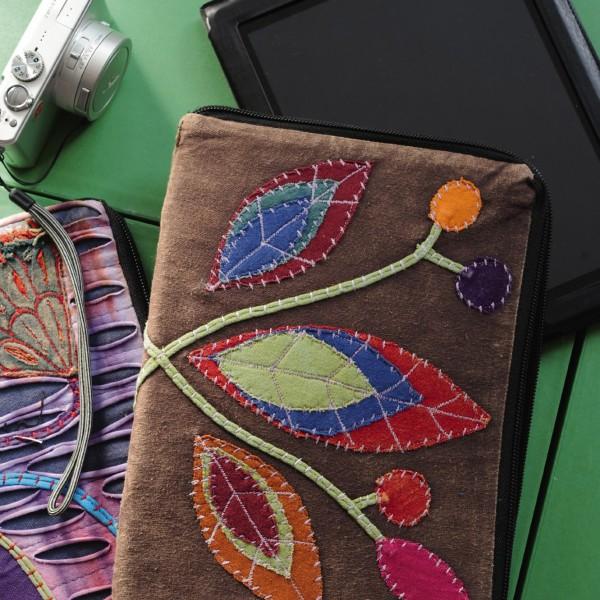 """iPad Tasche """"Bhuin"""", braun/multicolor"""