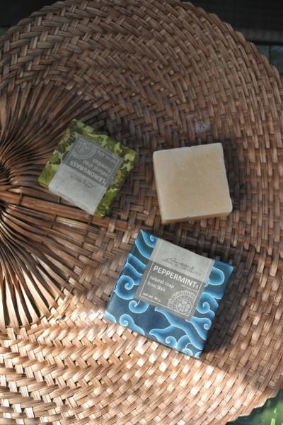 Naturseife 'Pfefferminz', 95 g, aus 100% natürlichen Inhaltsstoffen