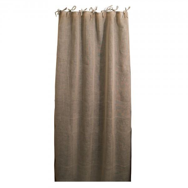 """Leinen-Vorhang """"Voile"""", natur, B 105 cm, L 245 cm"""