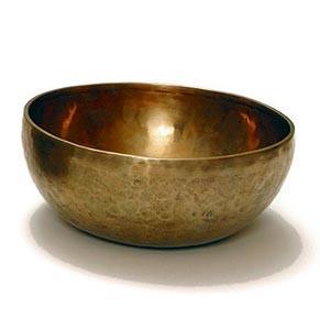 Klangschale 'Jam Bowl', bronze, H 9,5 cm, Ø 18 cm