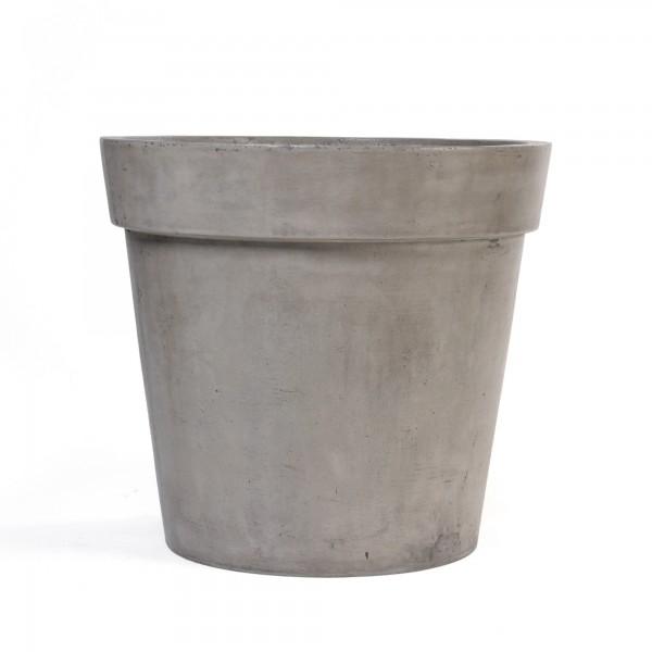 Übertopf 'Linsdorp' L, grau, Ø 55 cm, H 50 cm
