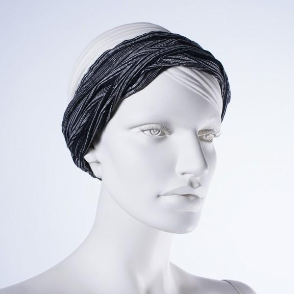 """Haarband """"Seattle"""", aus 100% Baumwolle, schwarz"""