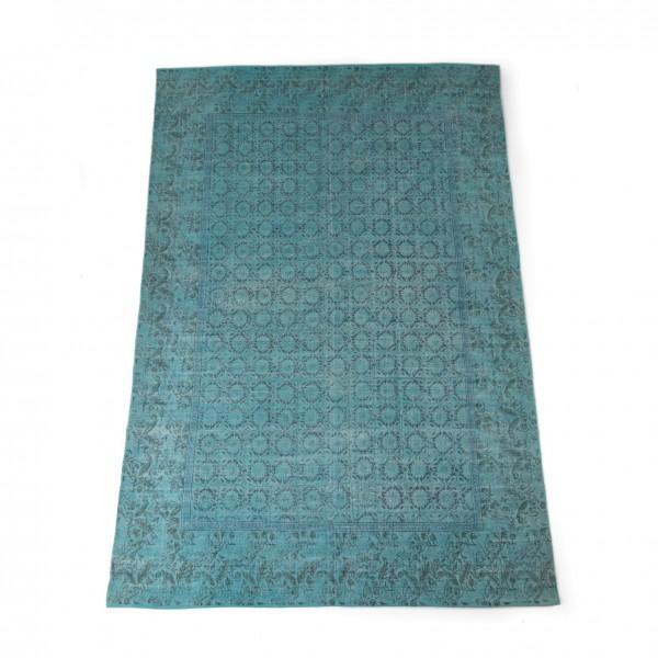 """Teppich """"Puducherry"""", handgewebt, türkis, L 200 cm, B 140 cm"""