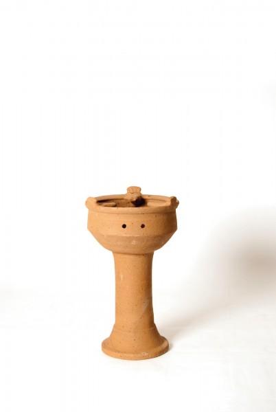 Tajine-Feuerstelle / Kanoun hoch, natur, T 30 cm, B 30 cm, H 45 cm