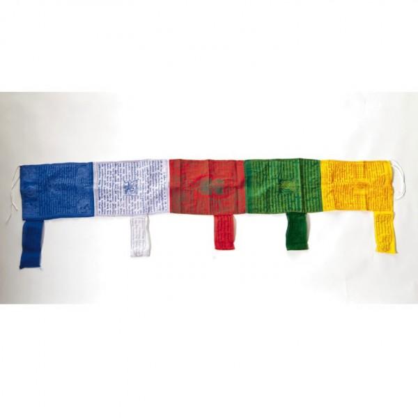 Tibetische Gebetsfahne, handgefertigt in Nepal