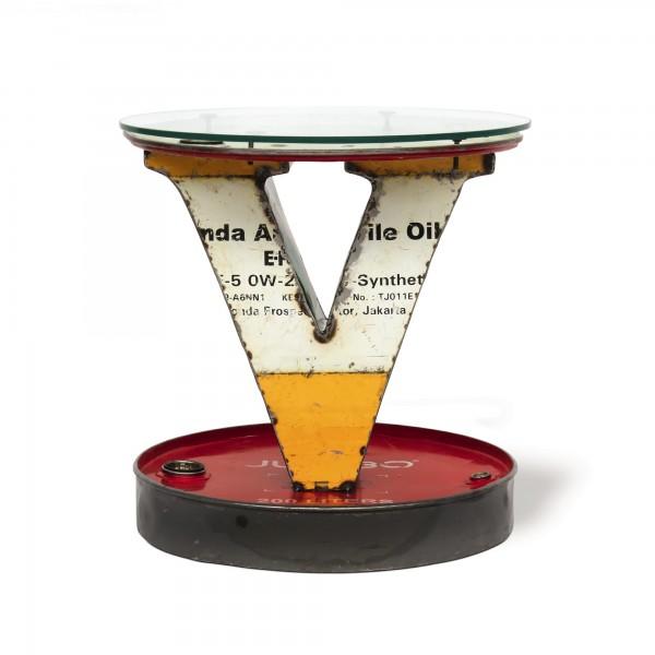 V-Tisch 'Cuba', verschieden, Ø 60 cm, H 65 cm