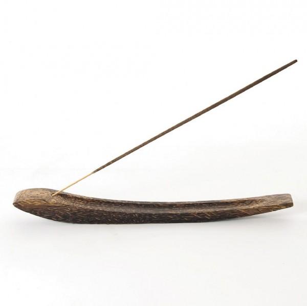 Räucherstäbchenhalter, natur, L 31 cm, B 3 cm, H 3 cm