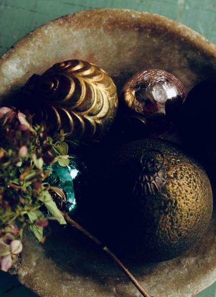 Anhänger Oval, grün, T 10 cm, B 10 cm, H 10 cm