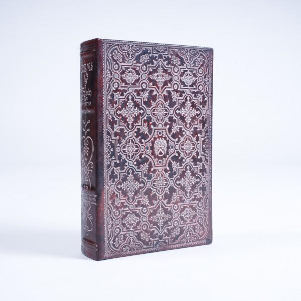 "Buch-Tresor ""Poems"", L 5 cm, B 16 cm, H 24 cm"