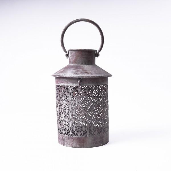 "Laterne ""Wubin S"" aus Metall, Ø 18 cm, H 26 cm"