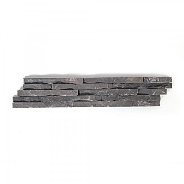 Holzverkleidung Naturstein, grau, T 10 cm, B 50 cm, H 2,5 cm