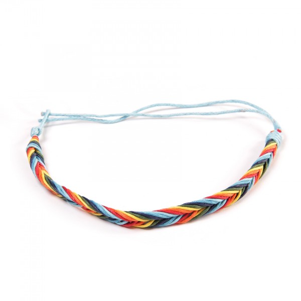"Armband ""Marcel"", aus Baumwolle, multicolor"