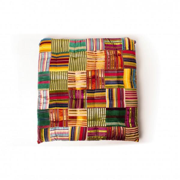 """Kissen """"Chamba"""", multicolor, L 70 cm, B 70 cm"""