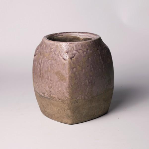 """Pflanztopf """"Toulon"""", rosa/beige, Ø 20 cm, H 23 cm"""