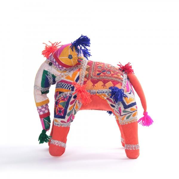 Deko Elefant, multicolor, B 45 cm, H 30 cm