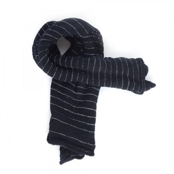 Magic Infinity Scarf, schwarz, weiß, T 80 cm, B 60 cm
