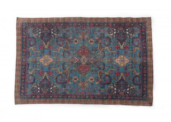 Teppich 'Varanasi', handbedruckt, L 200 cm, B 140 cm