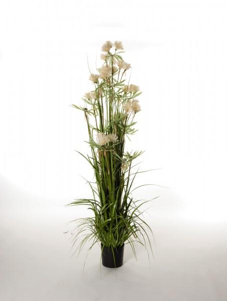"""Kunstpflanze """"Bambusgras"""", hell, H 120 cm"""