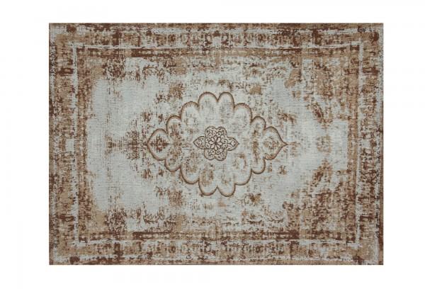 Teppich 'Sita', hellblau, braun, T 170 cm, B 240 cm