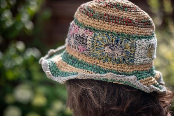 Sommerhut, multicolor
