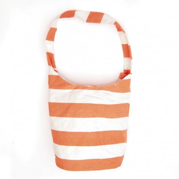 """Strandbeutel """"Oranje"""", orange/weiß, B 37 cm, H 30 cm"""