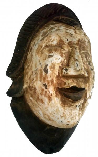Maske 'African Man', natur, T 16 cm, B 35 cm, H 10 cm