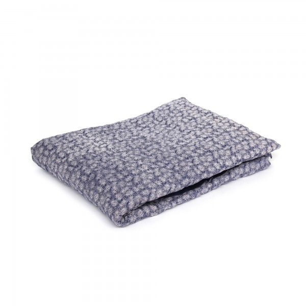 Quilt 'Lautrec', blau, weiß, T 150 cm, B 225 cm