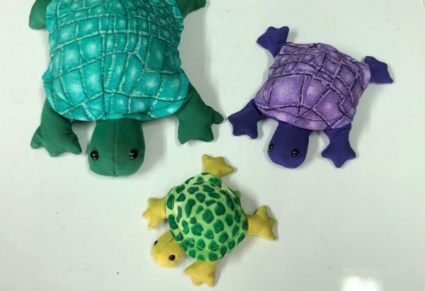 Sandtier 'Schildkröte' L, multicolor, T 13 cm, B 11 cm, H 5 cm