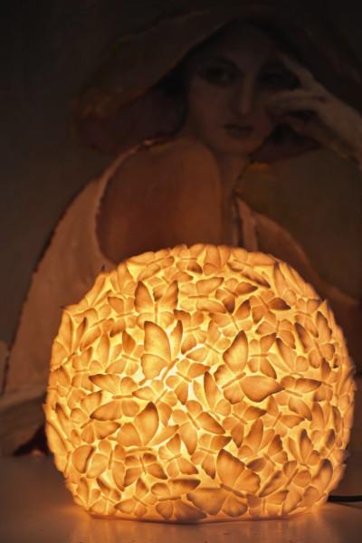 Leuchte 'Papillon', B 38 cm, H 32 cm